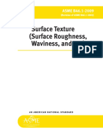 ASME B46.1-2009 Surface Roughness