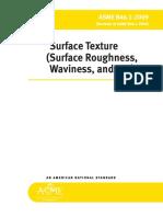 ASME B46.1-2009 Surface Roughness