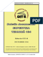 Buletin Doc. Expertiza Tehnica Nr. 134 - 12.2016