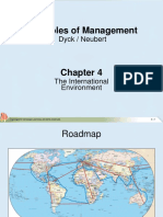 MGT_Chapter 4 the International Environment
