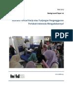 Background Paper No.2 Tahun 2017 tentang Asuransi untuk Pekerja Oleh Meila