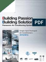Katalog Single Split Packaged AC 2015-2016 Panasonic