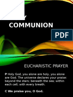 Holy Communion SK