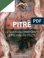 La Vita in Palermo Cento e Piu Anni Fa 1 Pitre