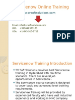 Servicenow Online Training in USA, Canada, UK & India