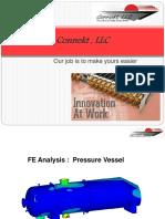 FEA Pressure Vessel