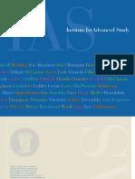 Institute of Advanced Study Book