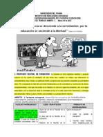 Guia de Trabajo Ambito 1. FILOSOFÍA y Educacion.ut