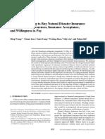 Buy Natural Disaster Insurance
