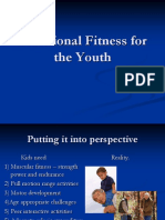Functional Fitness for the Youth Fencing