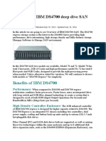IBM DS4700 Overview & Deep Dive SAN Technology