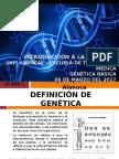 Primera Clase Teórica de Genética Básica
