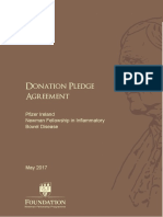 Draft Donor Agreement With UCD Foundation