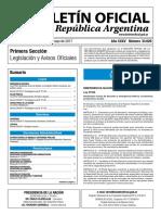 Boletín Oficial de la República Argentina, Número 33.626. 17 de mayo de 2017