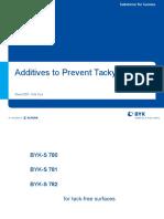 Anti Tack Additives 2007-New Names (NXPowerLite)