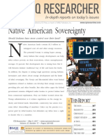 CQR Native Americans Sovereignty