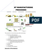 Cement Industrial Processes