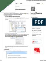 Mempercepat ShutDown Windows7