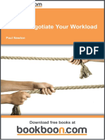 How to Negotiate Your Workload