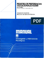 Kuder. Manual