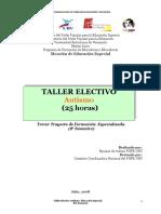 TALLER+ELECTIVO+AUTISMO+8VO+SEM+ED+ESPECIAL