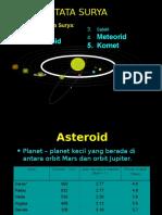 08 Asteroid Meteor Komet