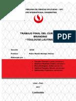 Trabajo Branding - Toulouse Lautrec