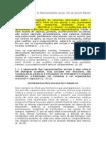 FICHAMENTO. as Representações Sociais. JODELET, D.