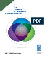 Informe Nacional sobre Desarrollo Humano 2017