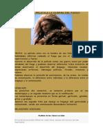 Analisis de La Pelicula La Guerra Del Fuego