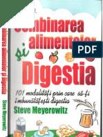 Comb in Area Alimentelor Si Digestia - Steve Meyerowitz