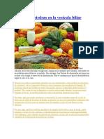Dieta para piedras en la vesícula biliar y mas.docx