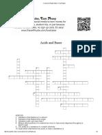 crossword puzzle maker  final puzzle