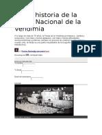 Breve Historia de La Fiesta Nacional de La Vendimia