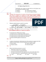 2 EC IES Objective Paper II 2015
