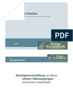 Banque de Luxembourg Bl Global Flexible