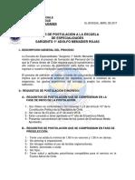 1.- Bases de Postulación EE 2018-2019