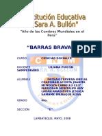 Monografia Barras Bravas