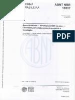 Nbr 16537-2016 Acessibilidade