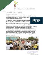 Informe Pedaleada Por La Paz Numero 1