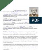 ARISTOTELISMO FILOSOFIA