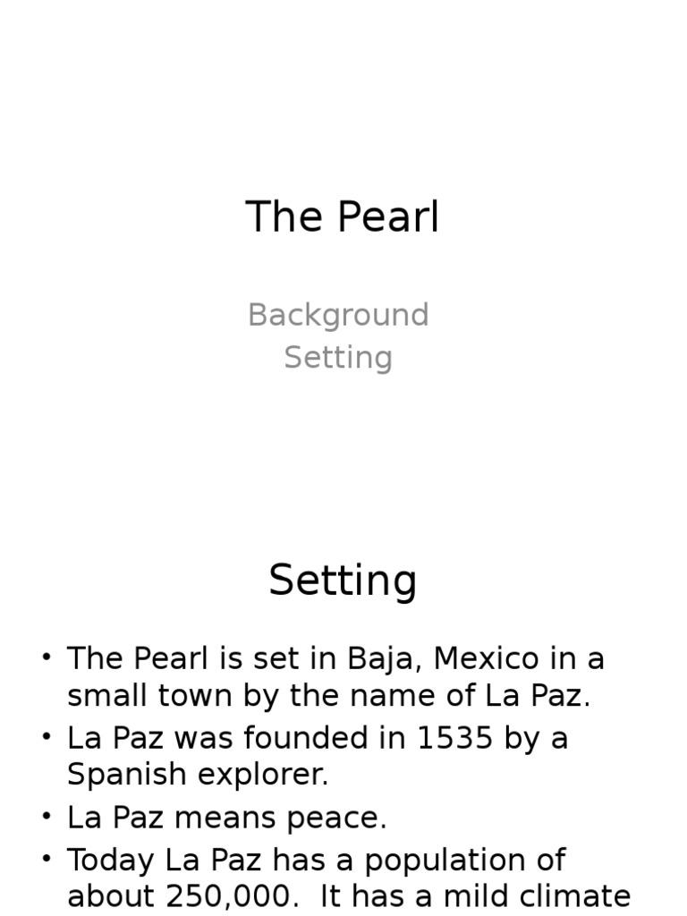 the pearl setting