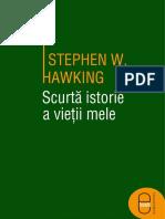 Scurta Istorie a Vietii Mele - Stephen Hawking