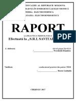 Savita Energy (Raport la practică)