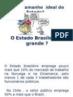 Não o Estado Brasileiro Não é Grande
