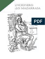 Cancionero Gonzalo Mazarrasa