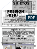 Presentacion Del Curso de Recipientes Sujetos a Presion