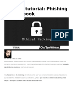 Hacking Tutorial - Phishing en Facebook