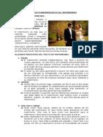 Aspectos Fundamentales Del Matrimonio