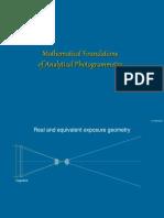 06 Analytical Photogrammetry